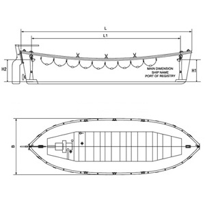 Open Type Lifeboat Marine Equipment Of Luo Company Co Ltd China